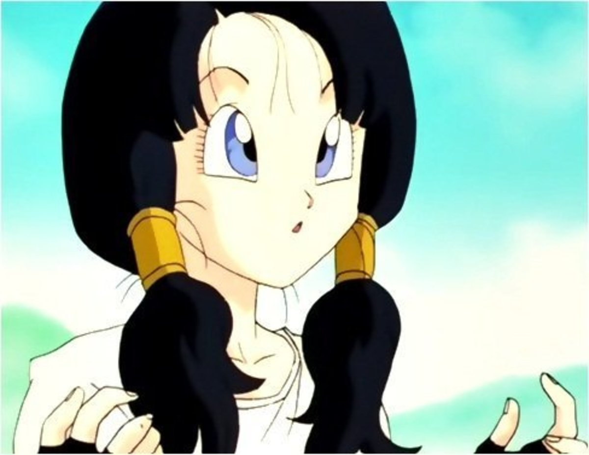 VIdel with her long hair