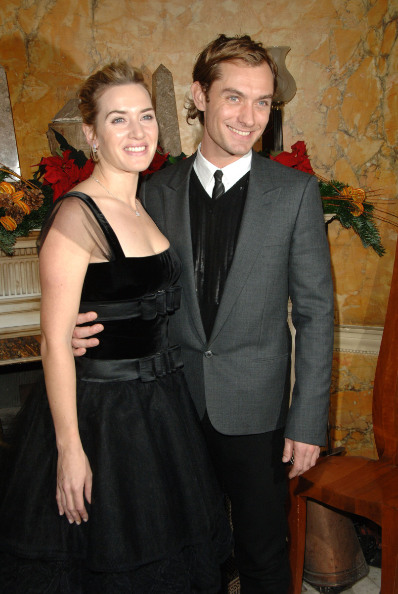 Kate Winslet & Jude Law at the U.K premiere of The Holiday.