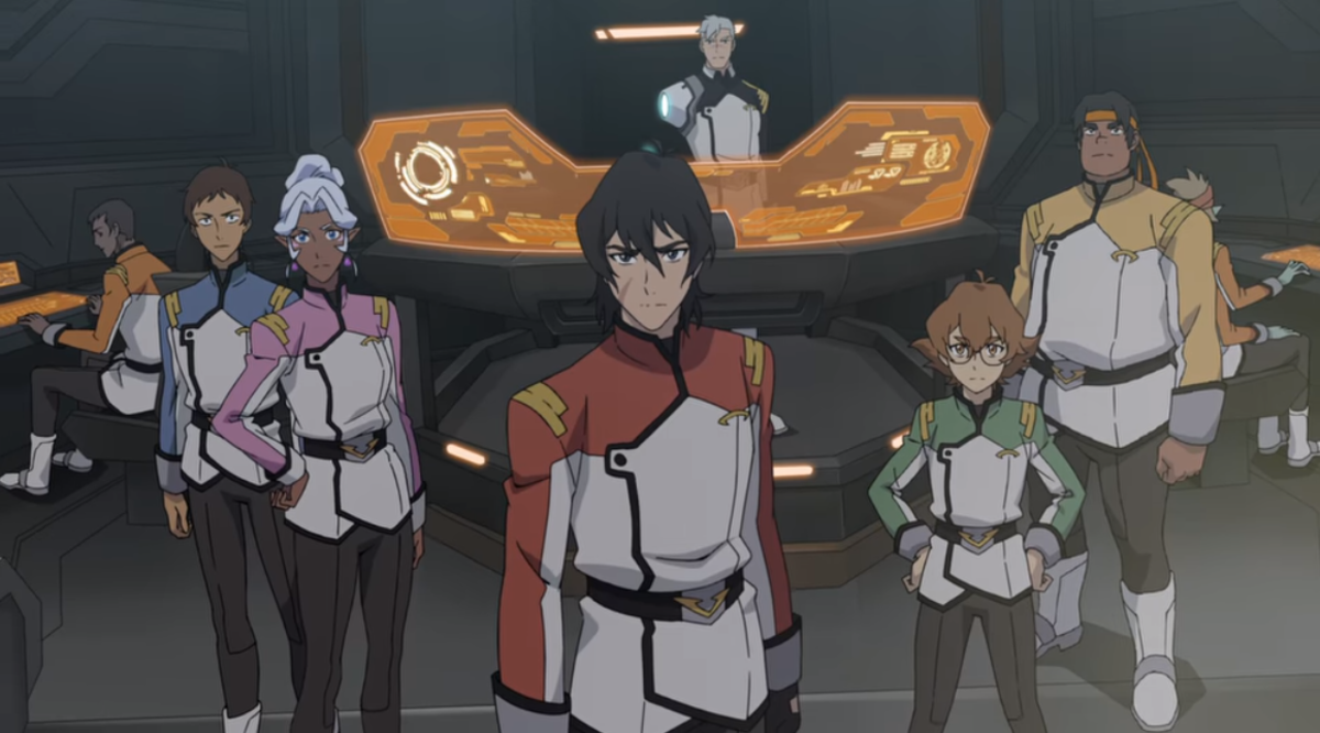 The first episode launches the team back into space. (Screenshot courtesy of Netflix/Dreamworks)