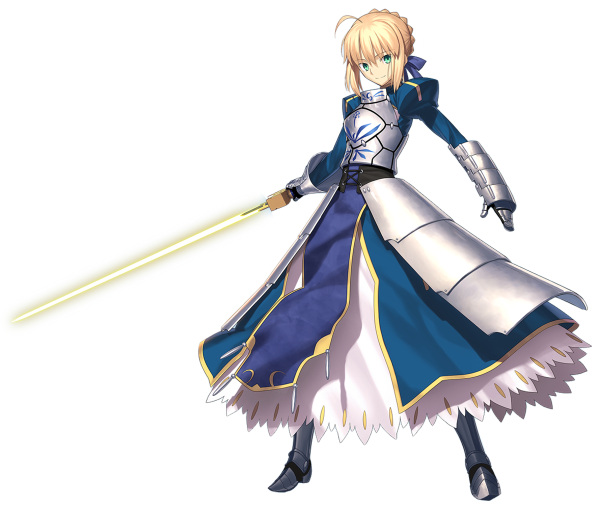 Saber in Fate/stay night