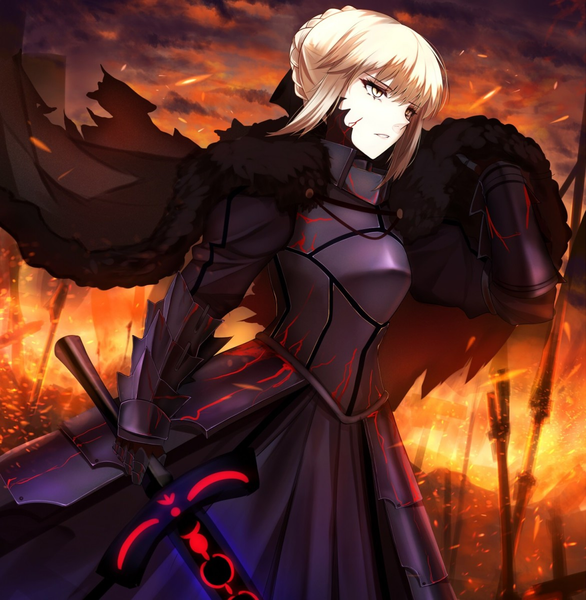 Saber Alter in Heaven's Feel