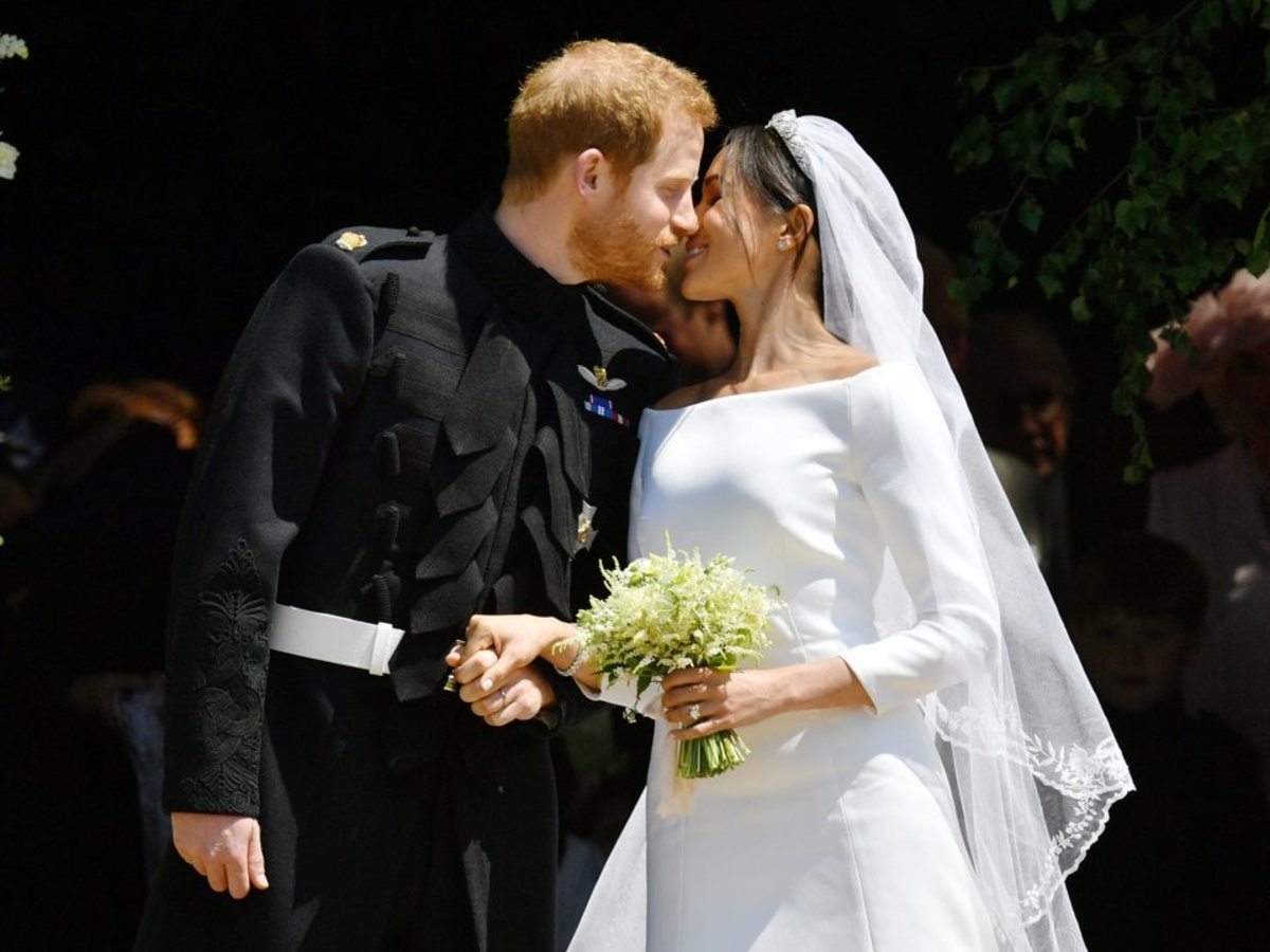 On Prince Harry and Meghan Markle's Wedding Day