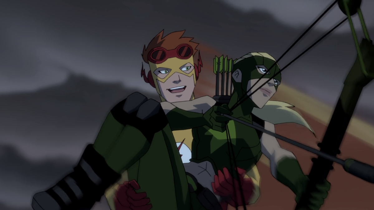 Kid Flash isn't around much in season two, but Artemis gets a key role in the plot's development. (Screencap courtesy of Warner Bros.)