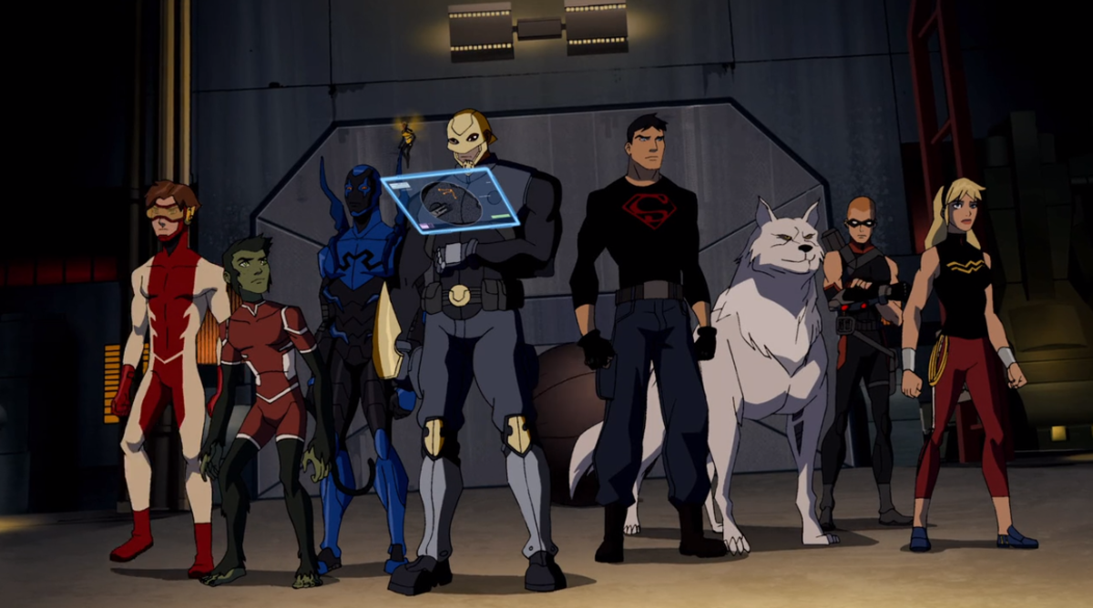 Just some of the members of the team who have been introduced by the end of season two. (Screencap courtesy of Warner Bros.)