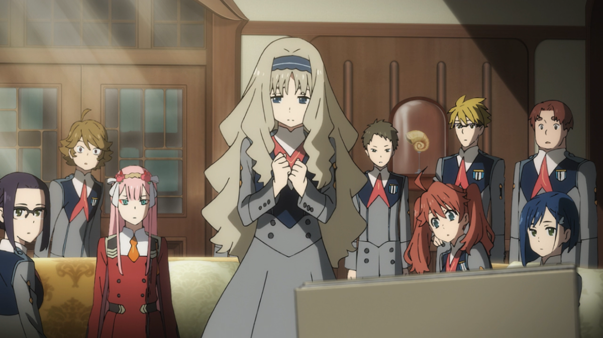 Humanity's on the brink of extinction thanks to the nightmarish entities known as the Klaxosaurs. But, all hope is not lost. The future now rests upon the mechas known as the FranXX and the remaining children of the world.