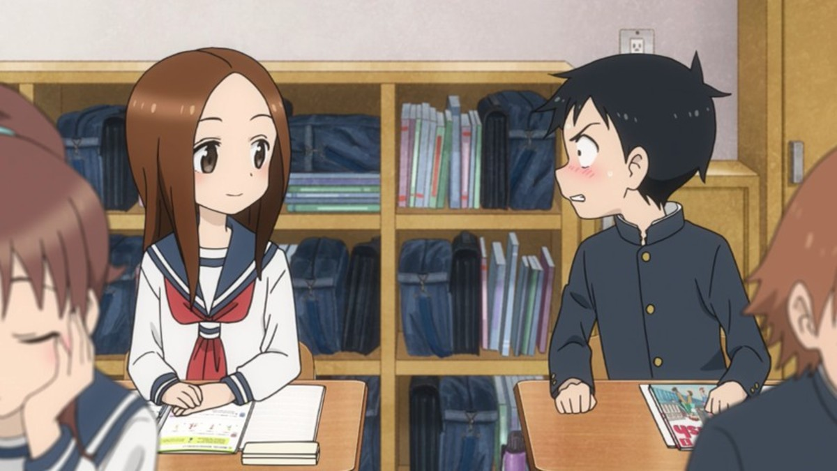 Takagi is always the teaser while Nishikata is always the teased. Will Nishikata ever be able to tease Takagi and render her cheeks red from embarrassment?