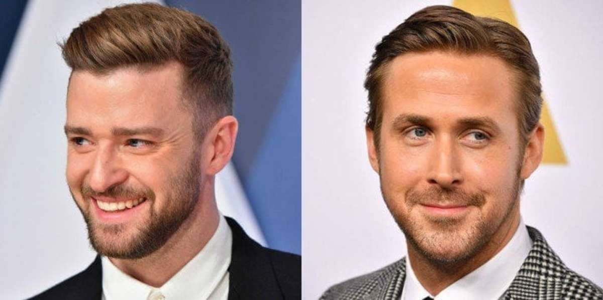 Justin Timberlake (left) at one point was tied to the film.