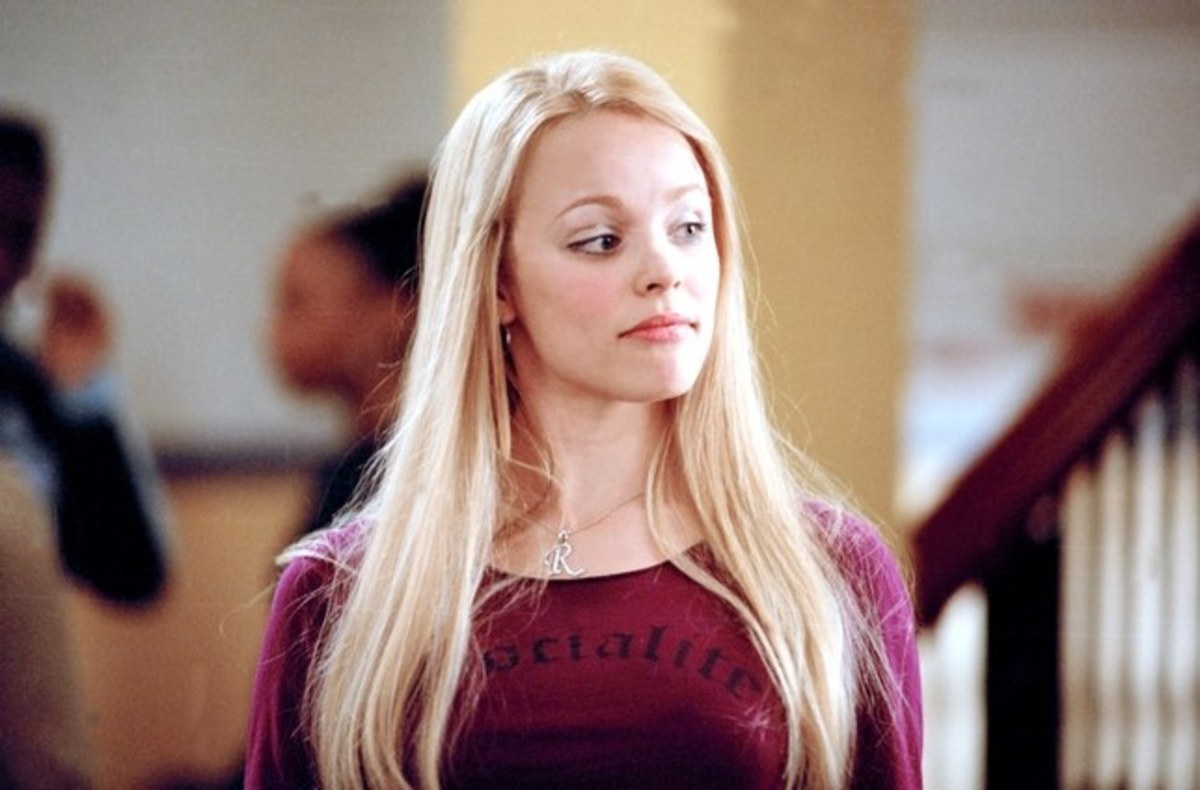 Rachel McAdams as Regina George.