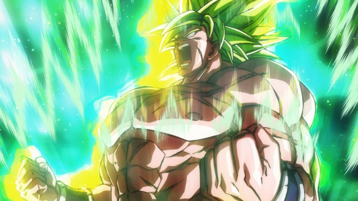 The Legendary Super Saiyan Broly.