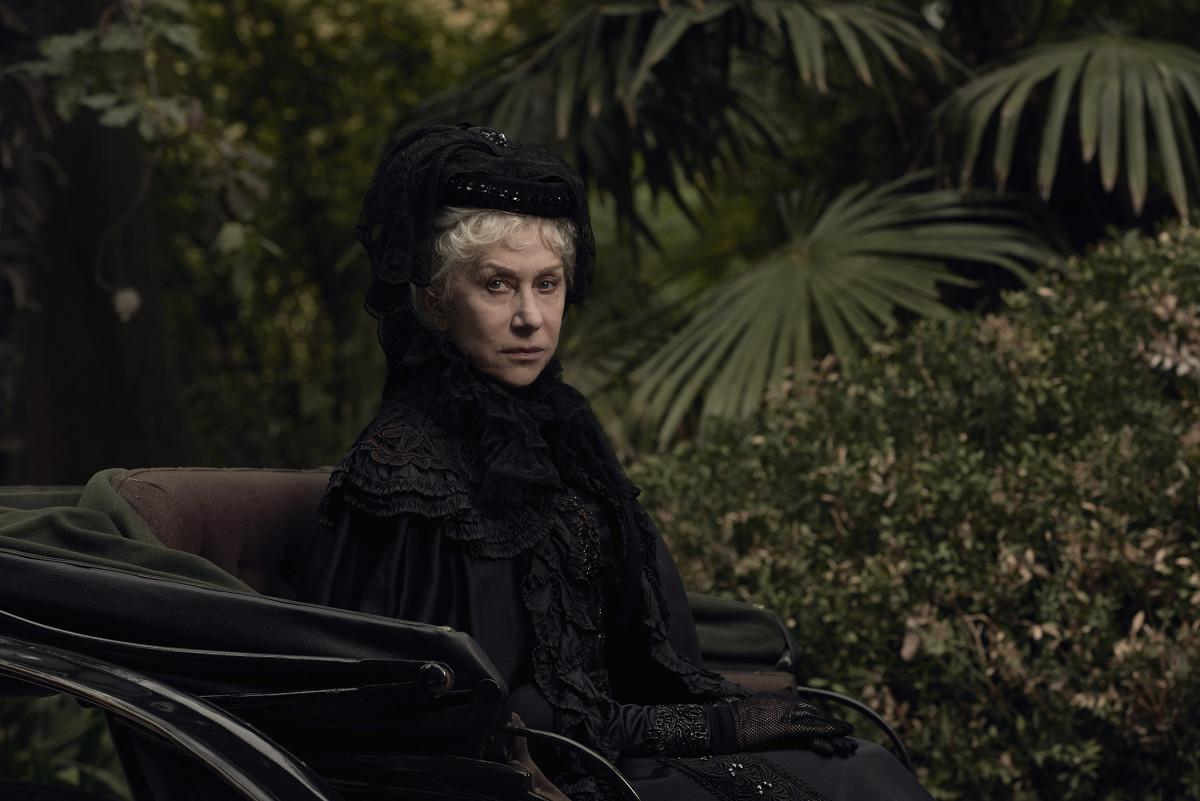 Helen Mirren WILL stare you to death!