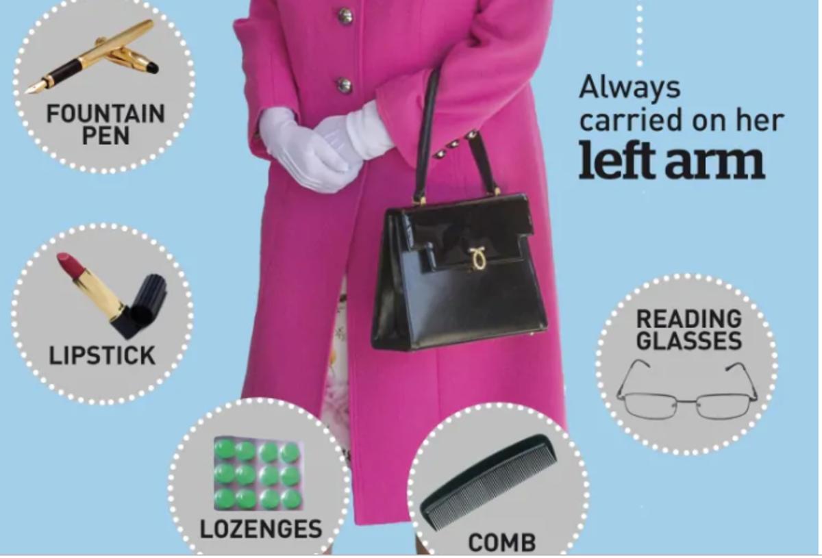 Things in Queen Elizabeth's handbag