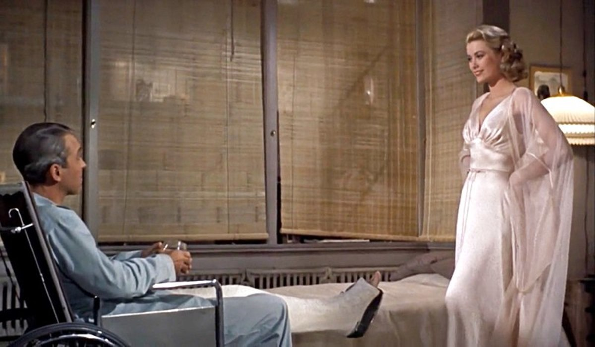 Lisa and Jeffries played by  James Stewart and Grace Kelly