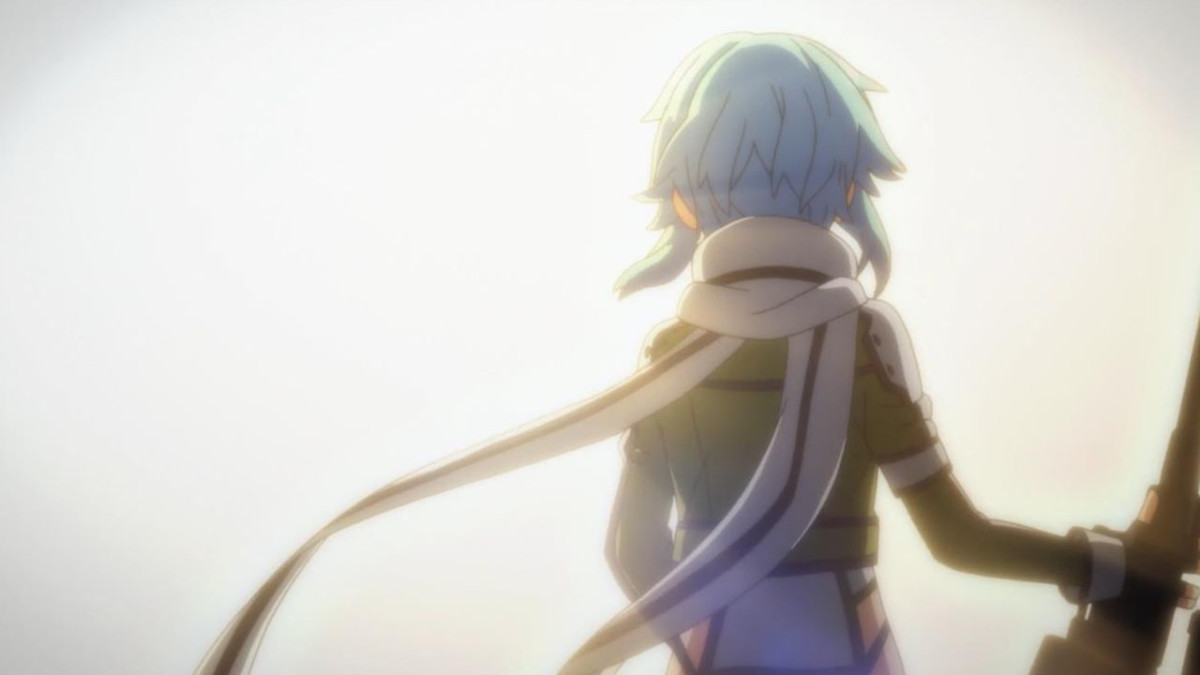After coming to terms with her past and experiences, Sinon is finally ready to move on with her life.