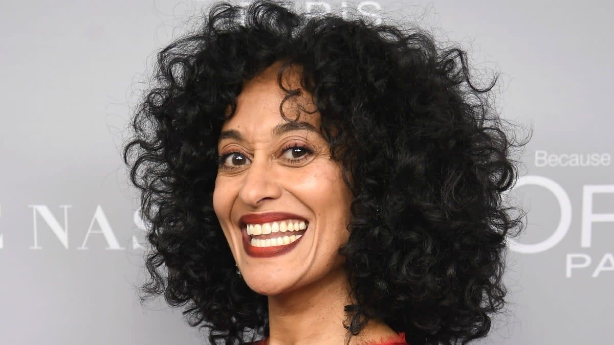 Tracee Ellis Ross has black mother and white father.