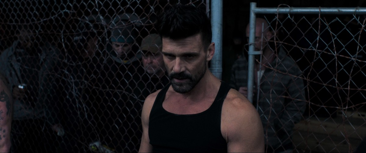 "Frank Grillo as Chainsaw Angus in, ""Donnybrook."""