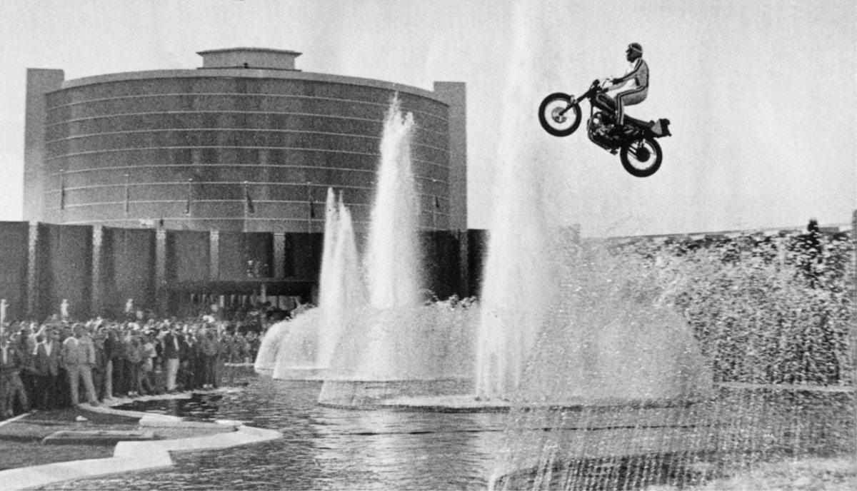 Evel Knievel Caesars Palace Jump