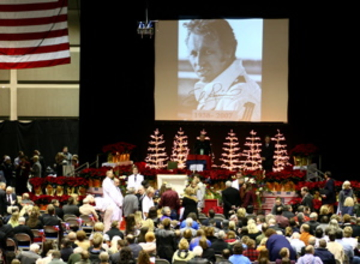 Evel Knievel funeral