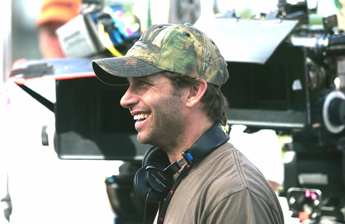 Zack Snyder smiling.