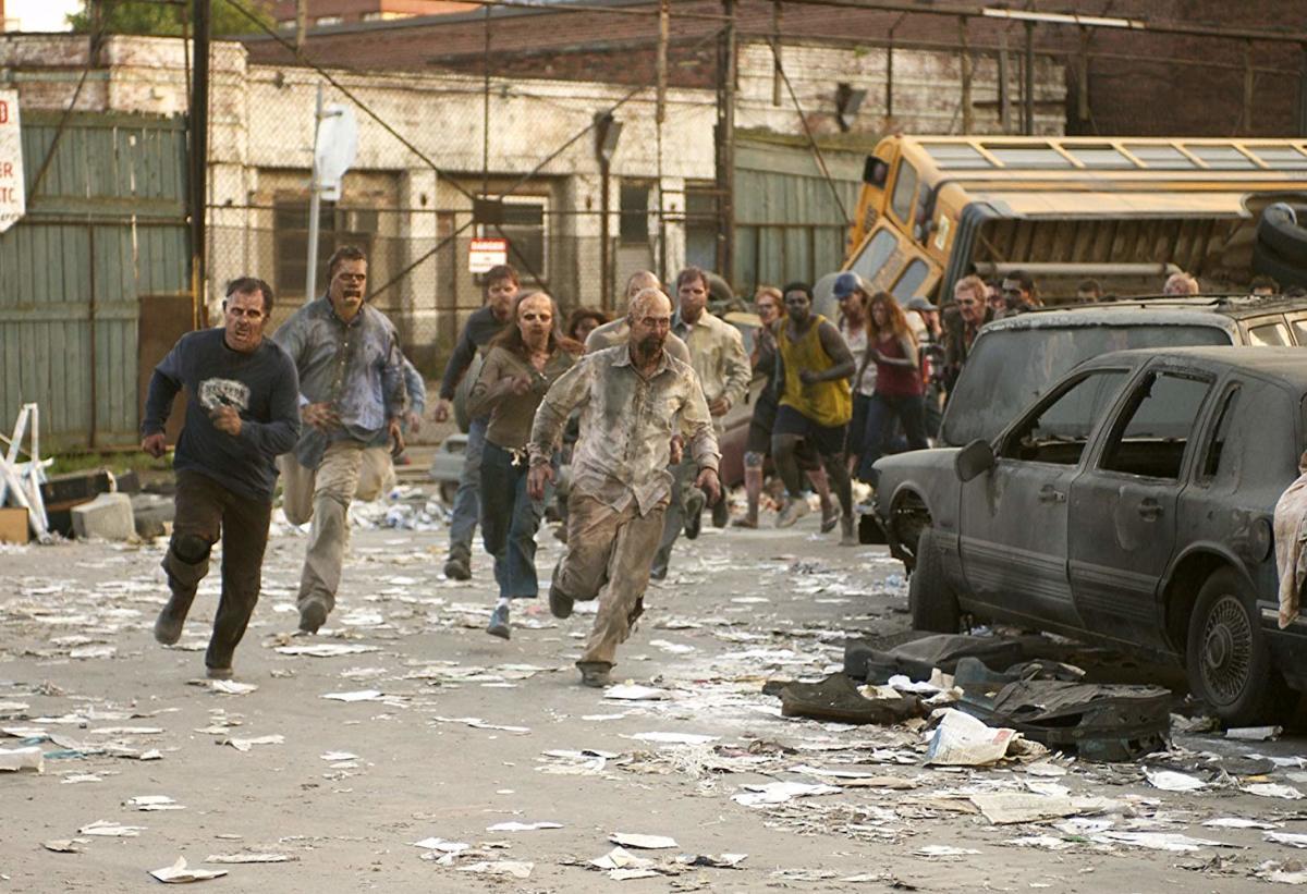 Zombies running...