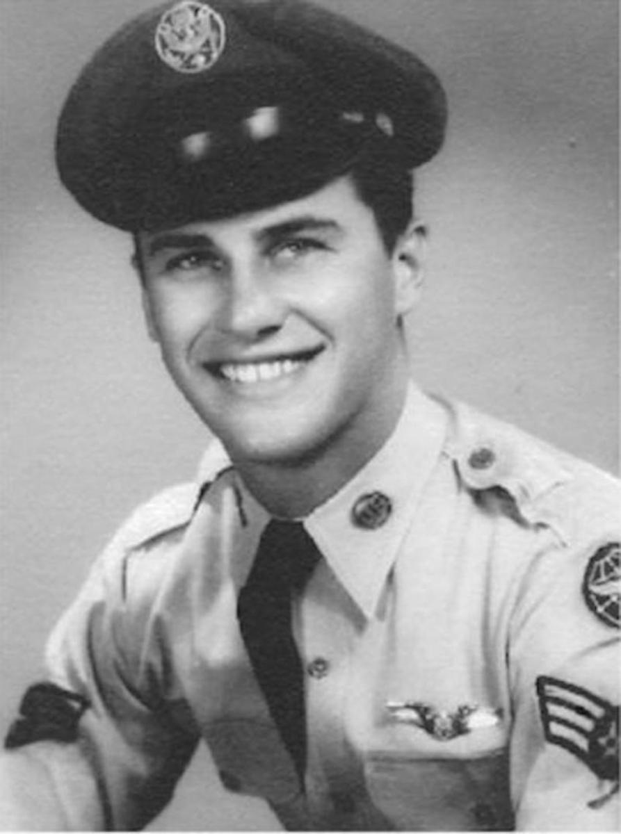 Bob Ross in Air Force