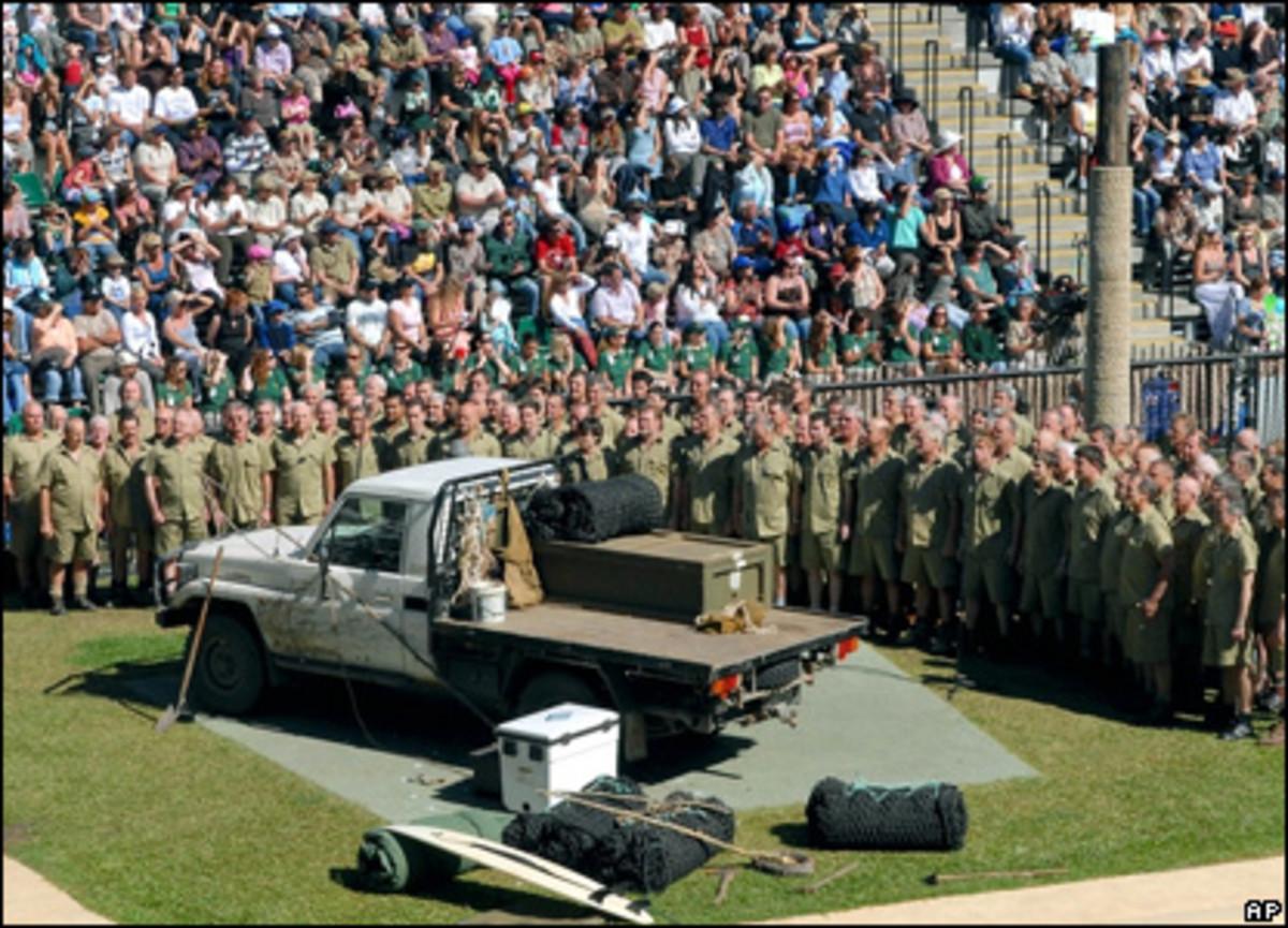 Steve Irwin memorial service