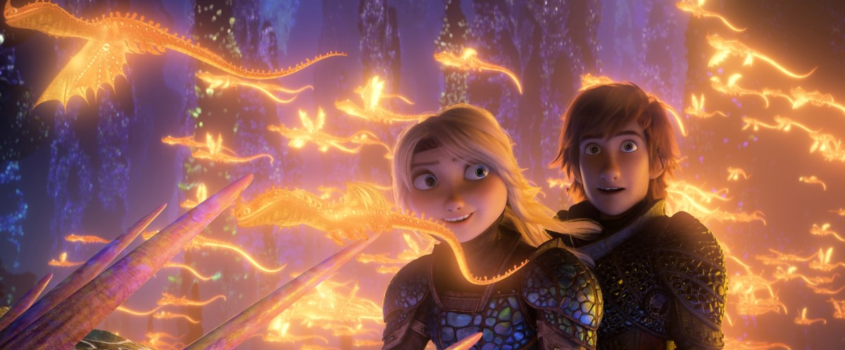 "Astrid and Hiccup discover something extraordinary in, ""How to Train Your Dragon: The Hidden World."""
