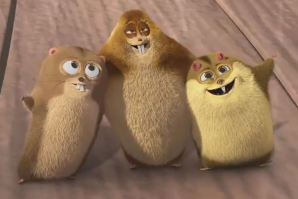 The furry minions.