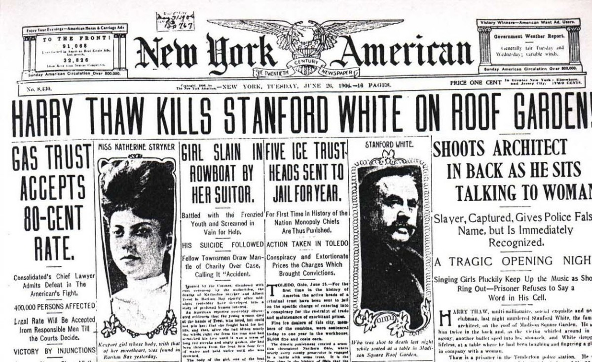 Newspaper Headlines of the Murder