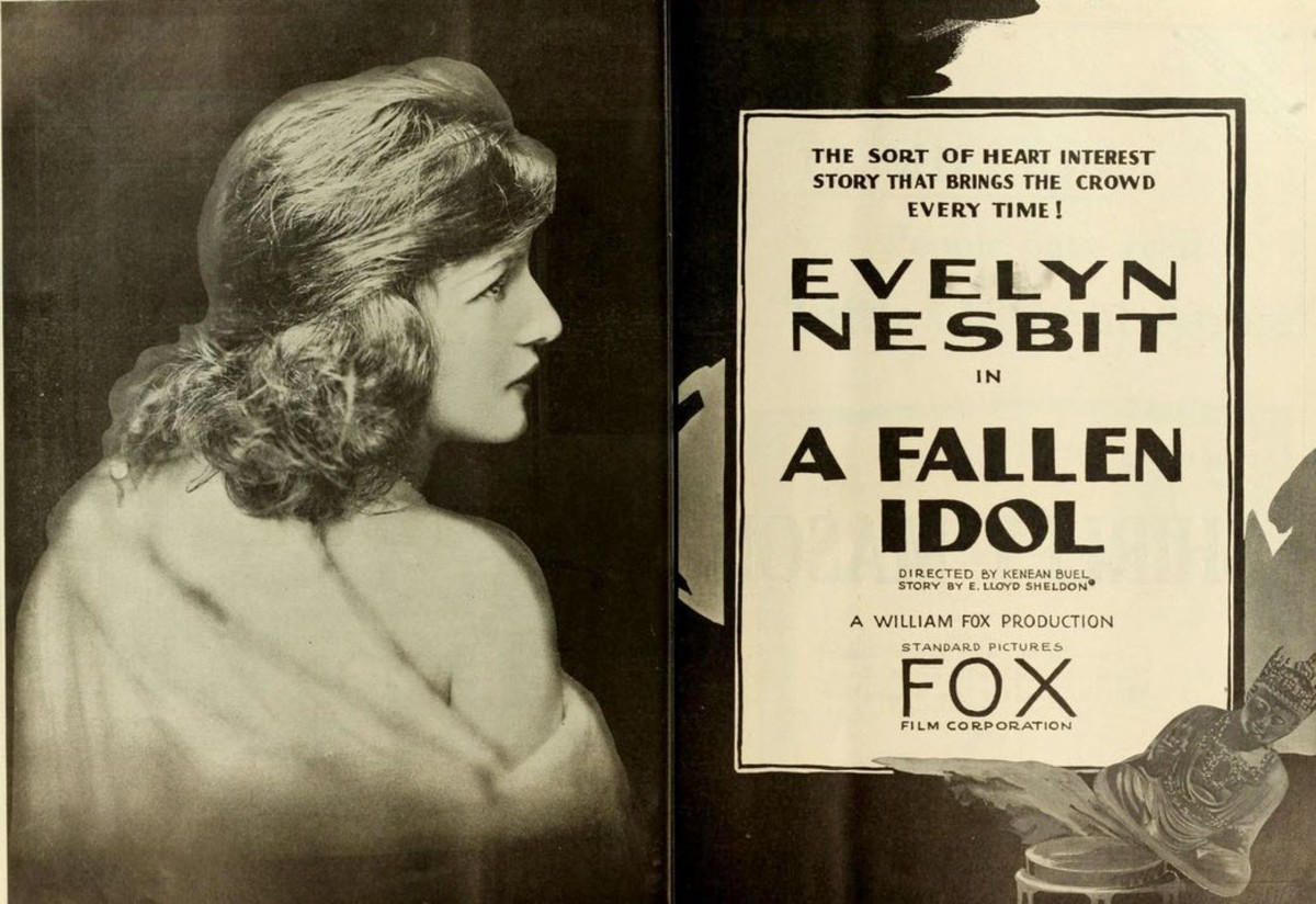 Promotional Material for One of Evelyn Nesbit's Later Films. Her Acting Career Was Not Successful After the Scandal