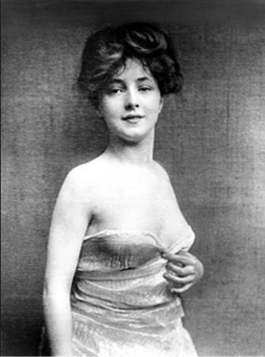 Evelyn Nesbit as a Young Woman