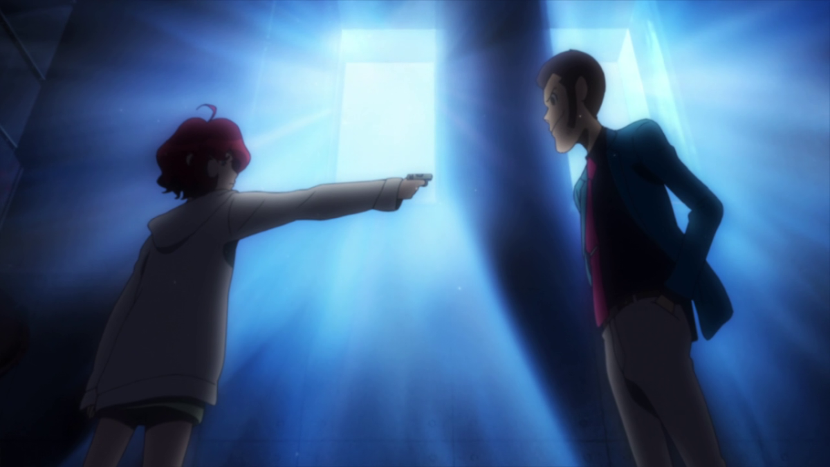The first contact between Lupin and shut-in hacker Ami is...less than amiable.