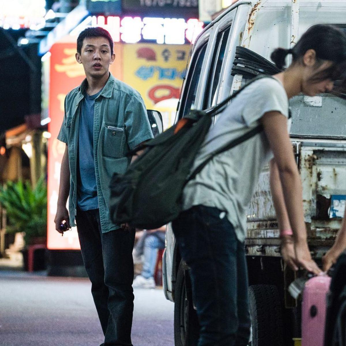 Ah-in Yoo and Jong-seo Jun in Beoning (2018)