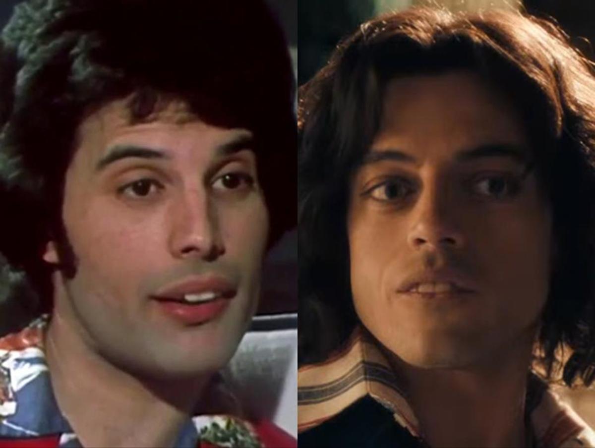 Hair and make-up used to reanimate Freddie Mercury.