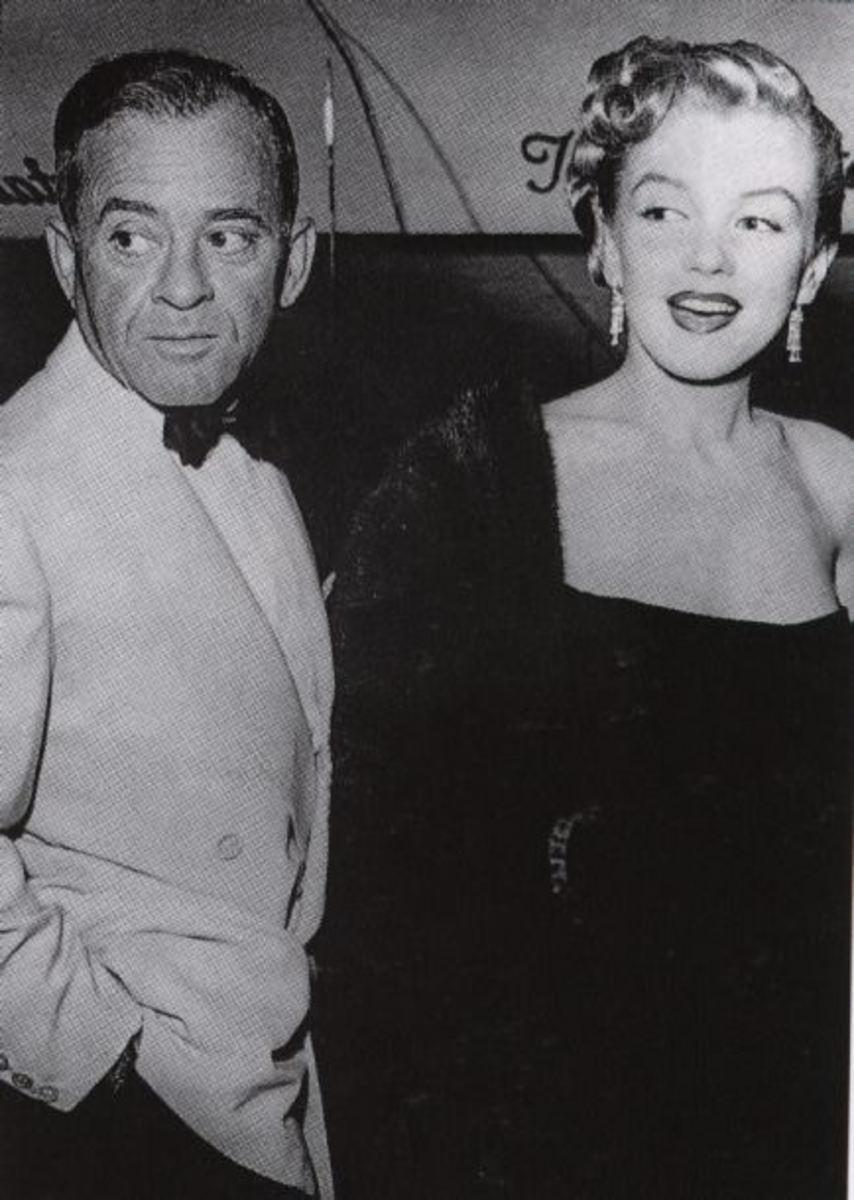 Marilyn Monroe & Johnny Hyde.