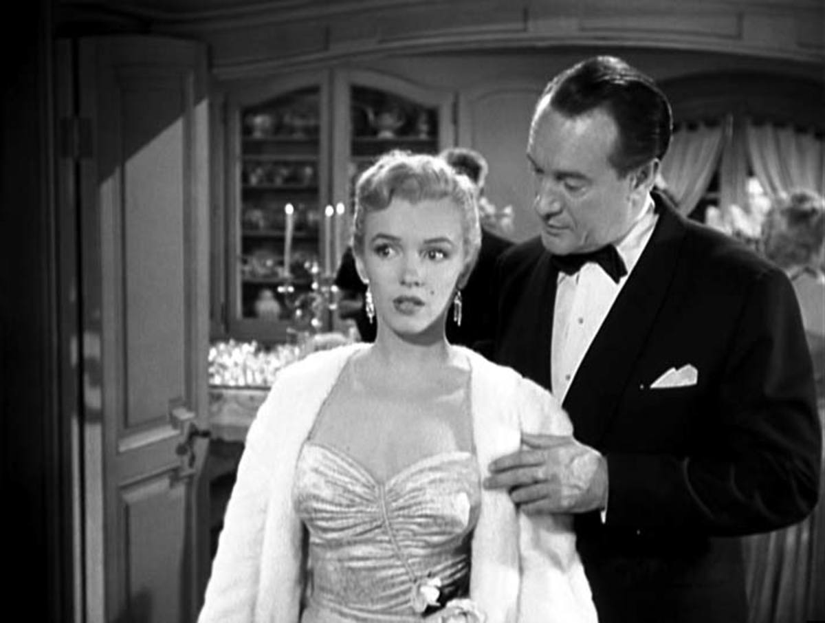 Monroe in All About Eve.