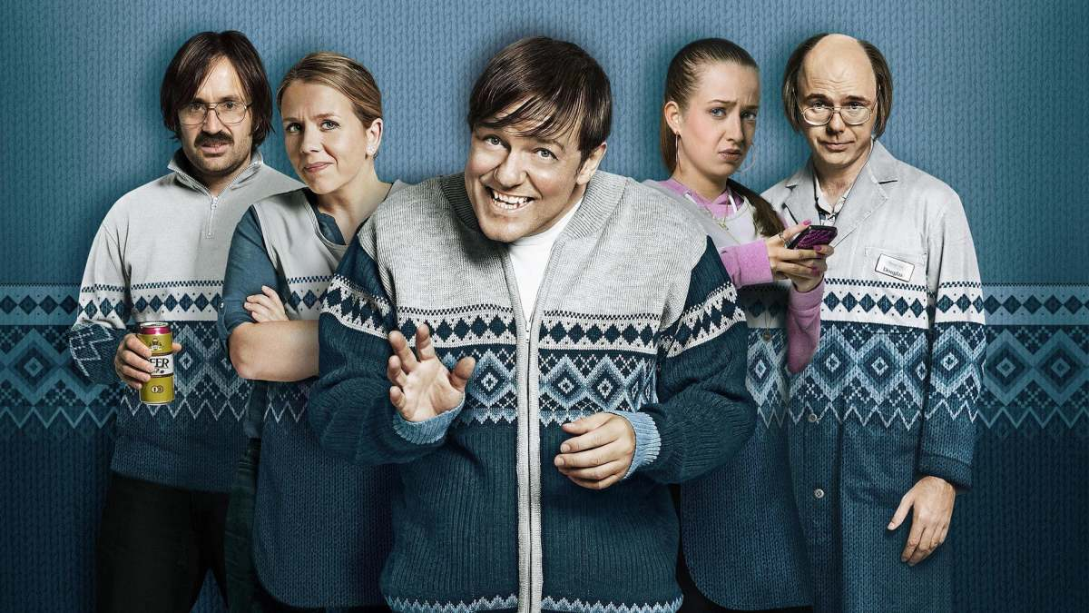Derek is a mix of comedy and drama, as Ricky Gervais stars as the main character, Derek Noakes.