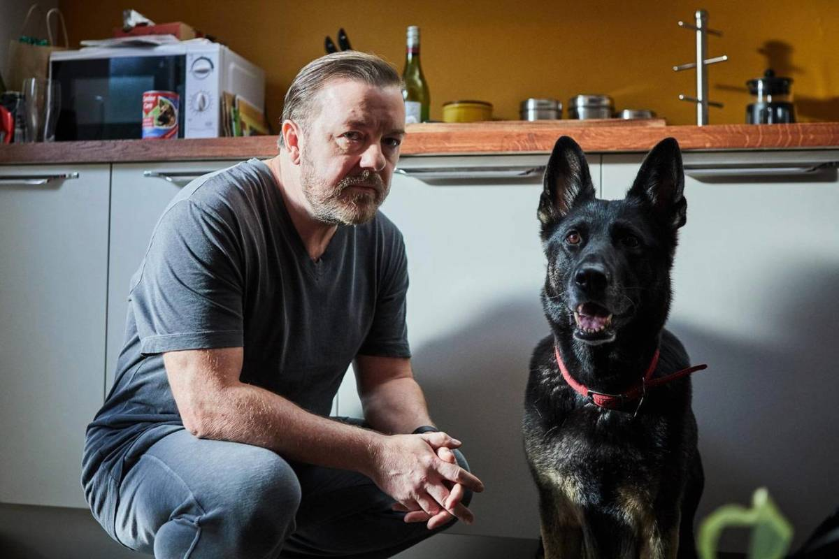Ricky Gervais takes a look at life and loss on his Netflix original series, After Life.