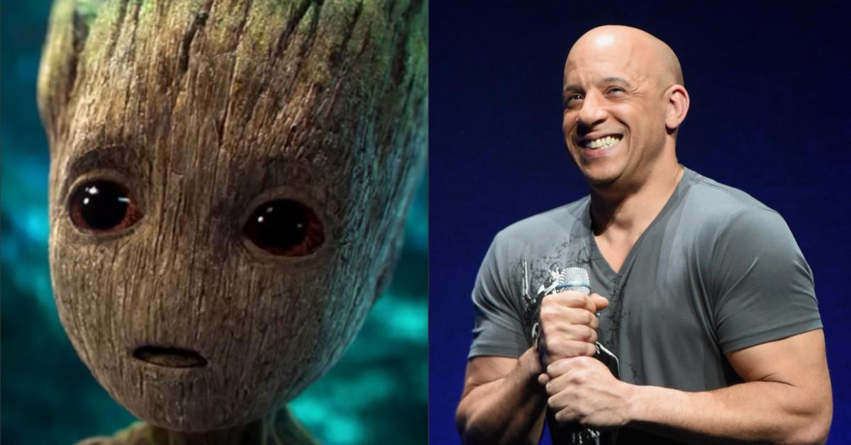 Vin Diesel as Groot.