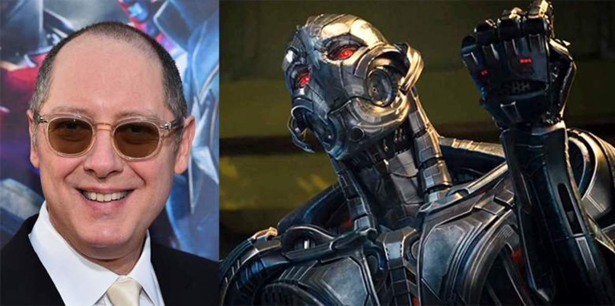 James Spader as Ultron.
