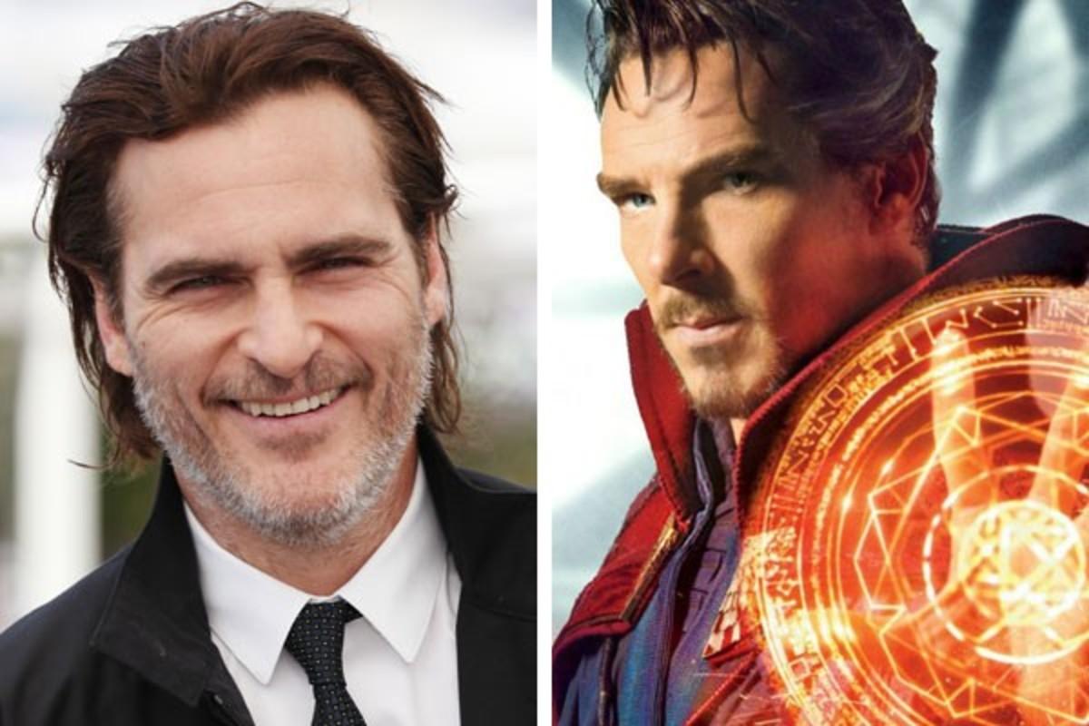 Joaquin Phoenix & Benedict Cumberbatch.