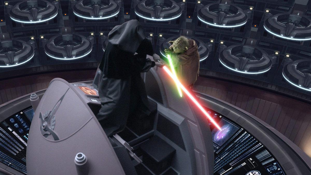 Darth Sidious vs Yoda