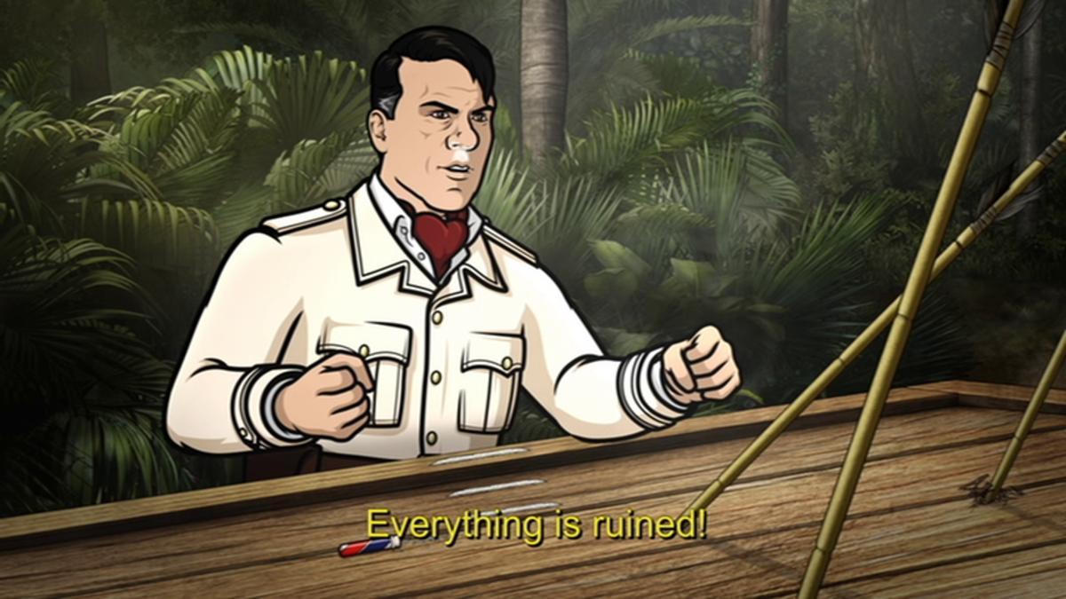"Chris Parnell as Siegbert Fuchs in, ""Archer: Danger Island Season 9."""