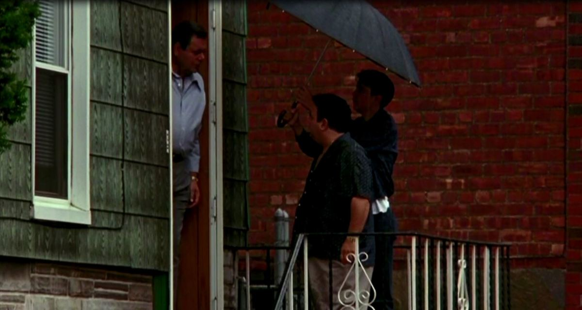 A young Henry Hill accompanies Tuddy Cicero to meet with his brother and leader Paul Cicero.