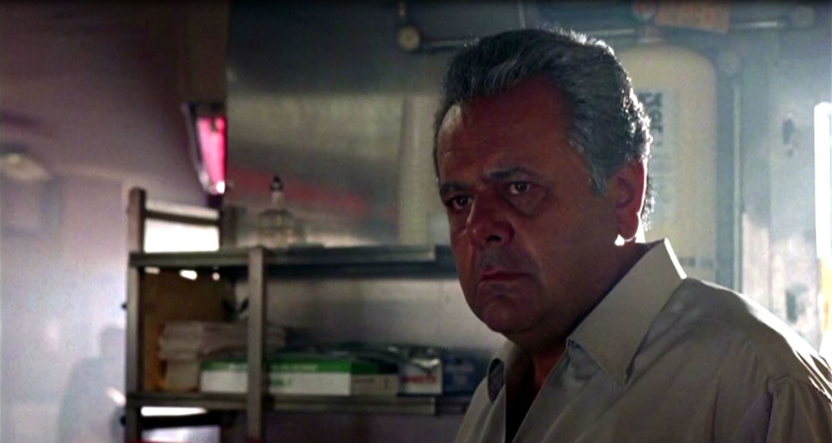 An older Paul Cicero says his goodbyes to Henry Hill.