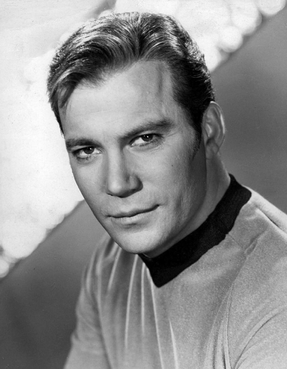 Captain Kirk - His best serious look