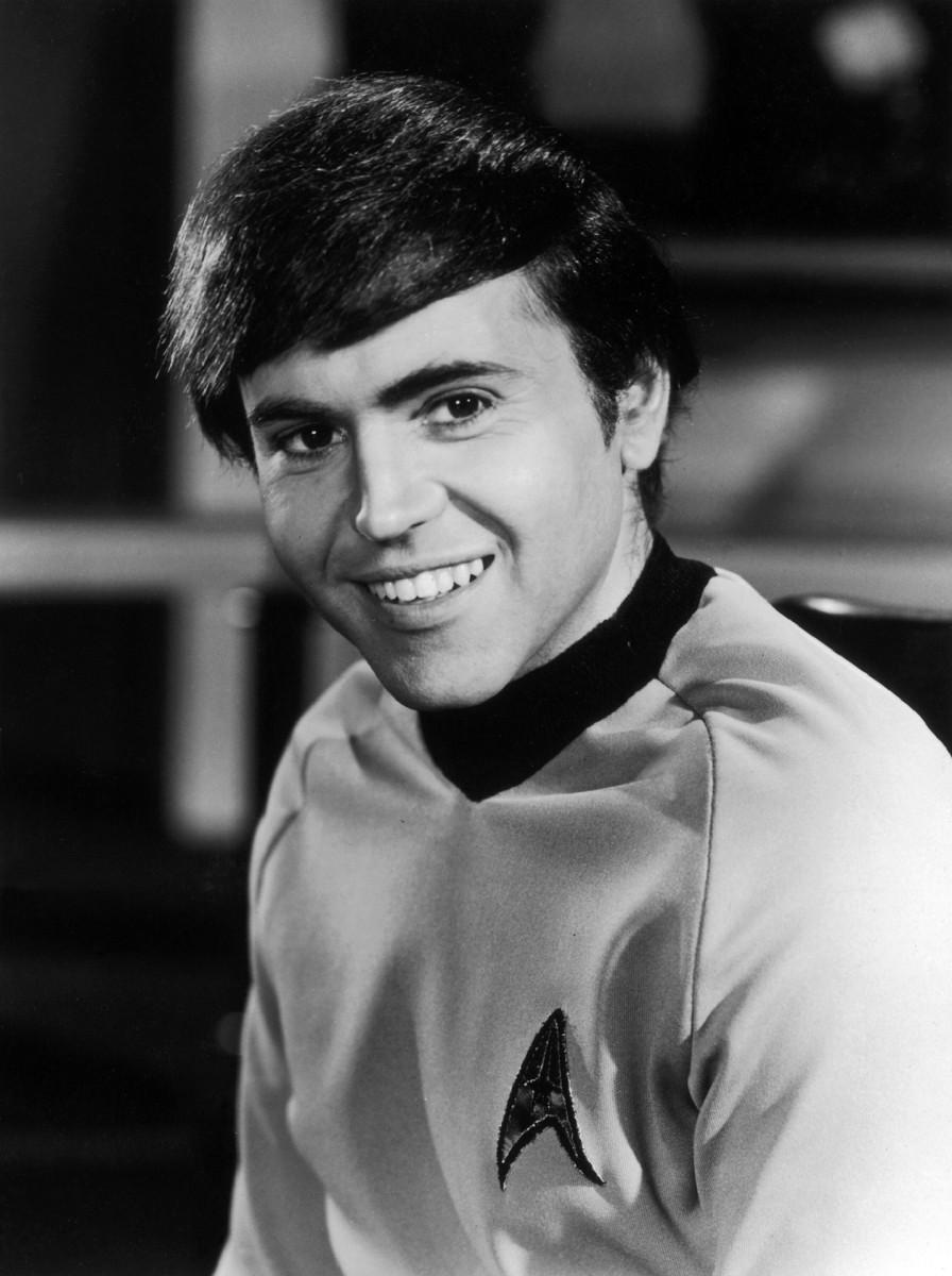 """Chekov (Walter Koenig): """"Ensign Authorization code: nine-five-wictor-wictor-two!"""""""
