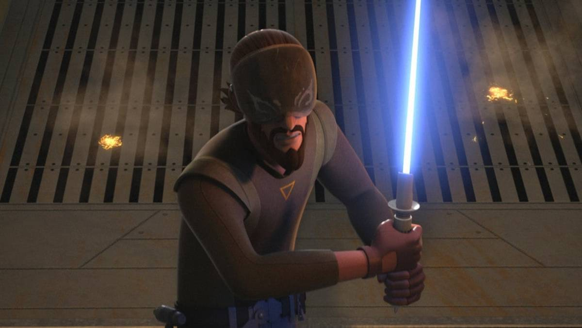 Kanan Jarrus in Star Wars Rebels