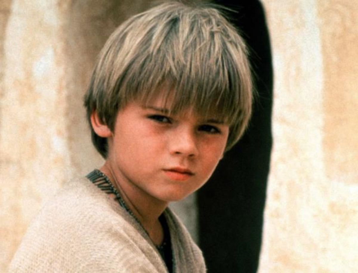 Anakin as a slave in Episode 1