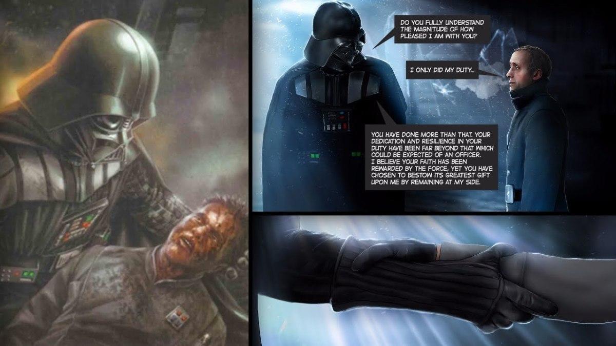 Darth Vader and Erv Lekauf