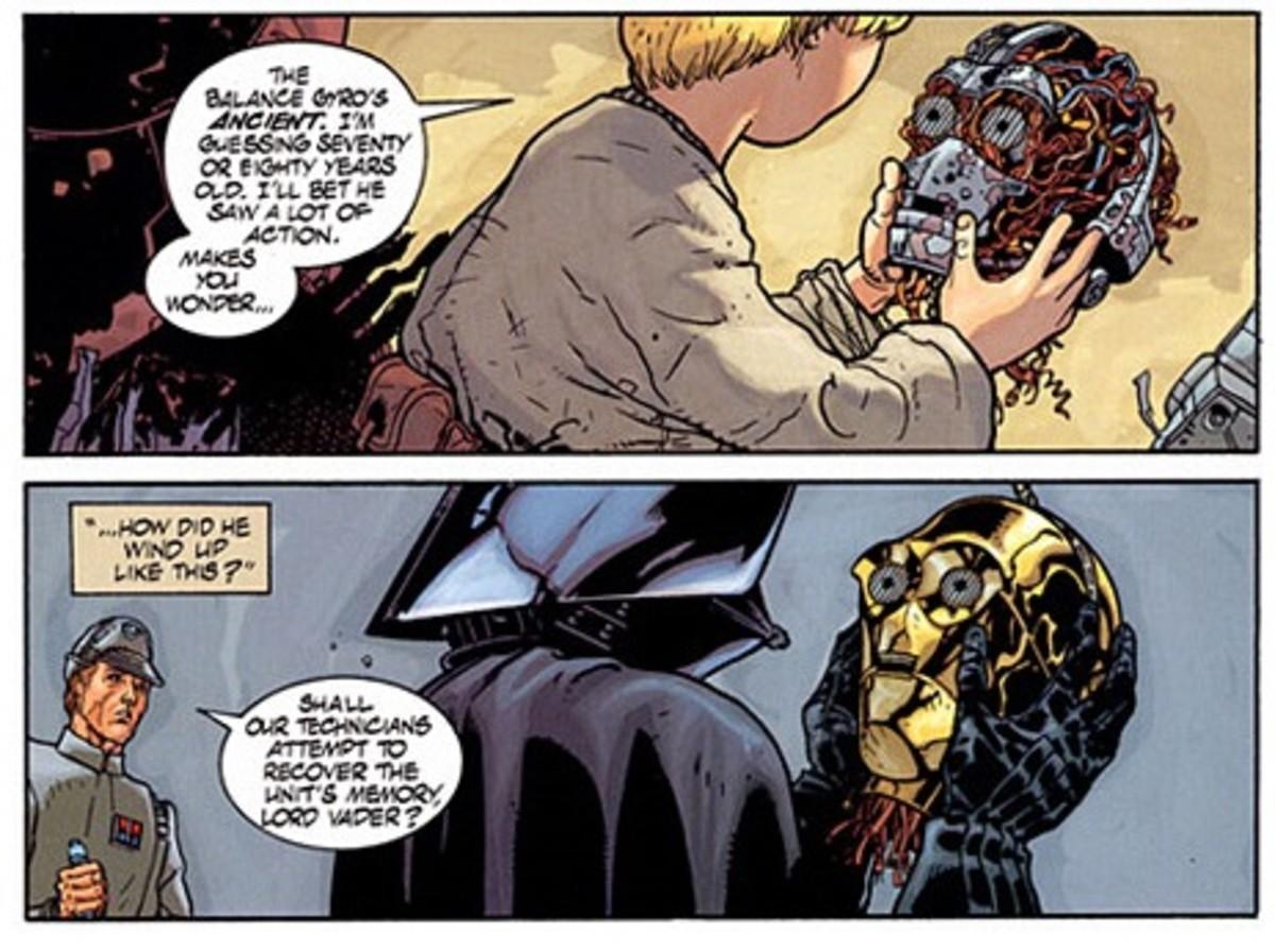 Darth Vader remembers C-3PO